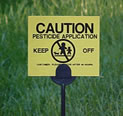 Be aware of pesticide explosure